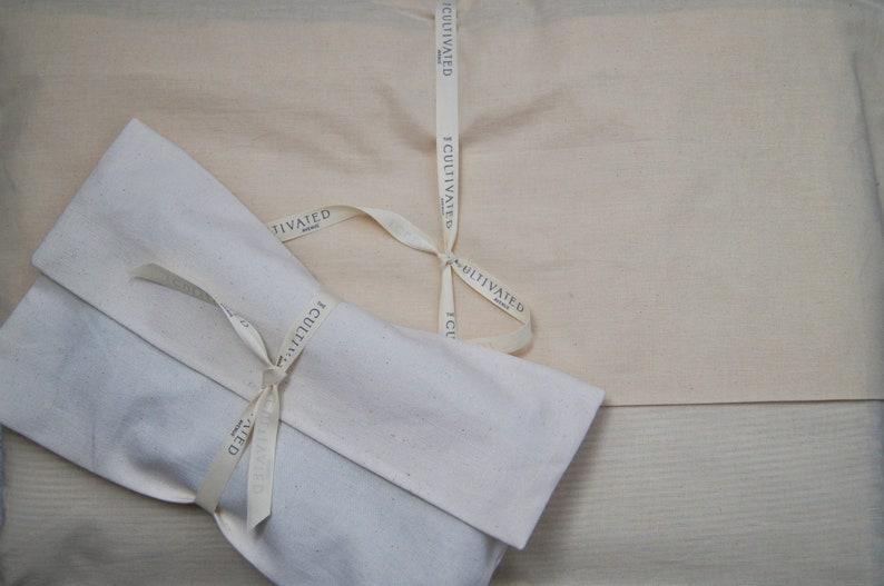 Medium colored Indigo and mud cloth handmade pillow cover