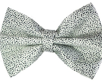 Sunflower Freckles Bow Tie Black and Pink