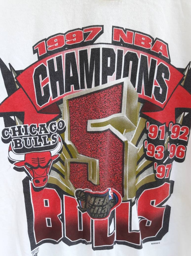 Vintage Chicago Bulls 1997 Champions tshirt