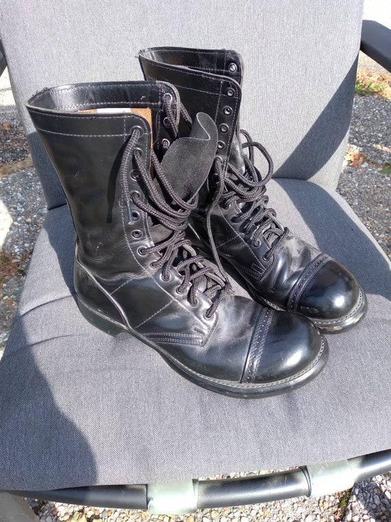 Vintage US Army Vietnam Paratrooper Jump Boots