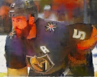 Deryk Engelland #5 Vegas Golden Knights