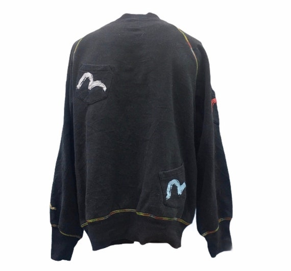 Black Evisu Sweatshirt