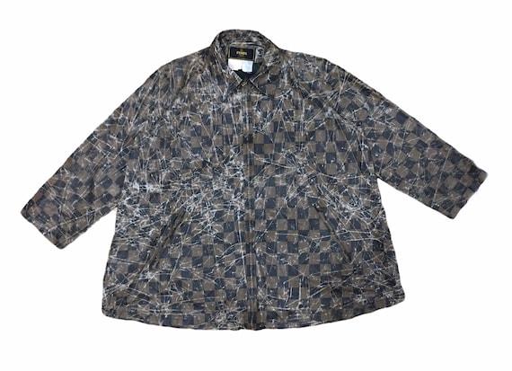 Fendi Monogram Bottom Flare Jacket