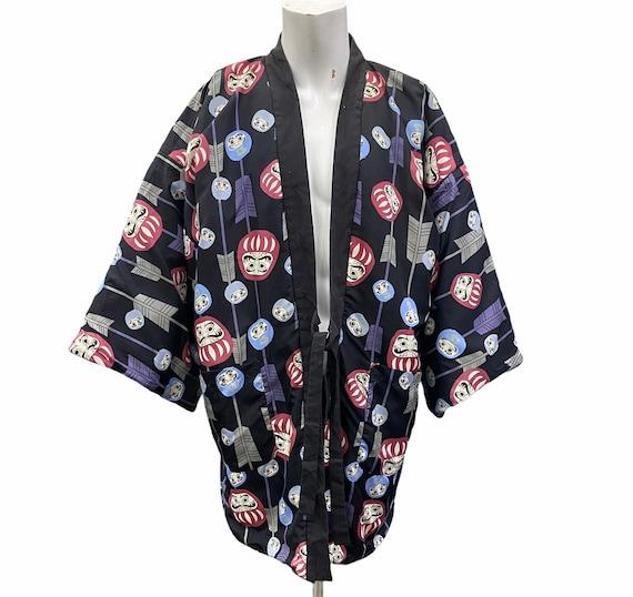 Cartoon Kimono Revesable