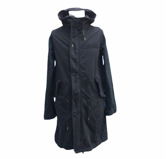 Schott Hoodie Zipper Parka Jacket