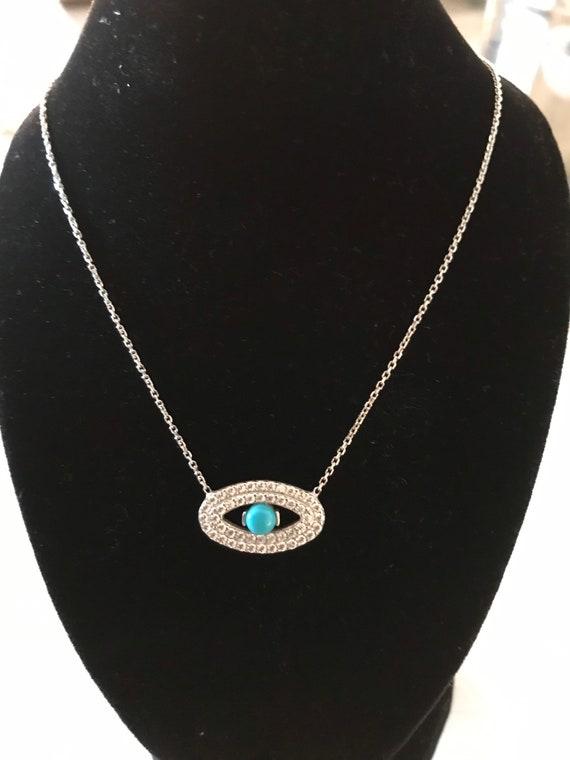 Sterling Evil Eye