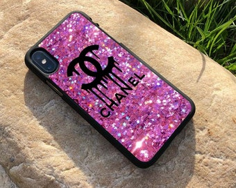 1ca51bec20e Inspired by Chanel , Chanel Case, Chanel iPhone Case, Chanel Samsung Case,  iPhone Xs Max, Samsung S9 S10+ Case,Cover Cases