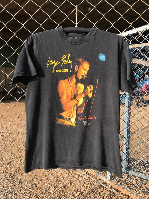 Vintage 00s Layne Staley Alice in Chains T Shirt