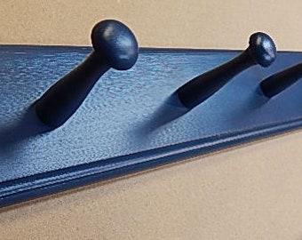 KUNSE Urban Industrial Style Eisen Wasserrohr Effekt Holz Wand Regal Mantel Haken Rack