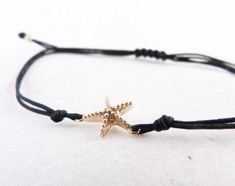 Stylish Starfish Bracelet Minimalist Gift Gift For Sister Sea Lovers Gold Starfish Mama Style Beach Style Summer Memories