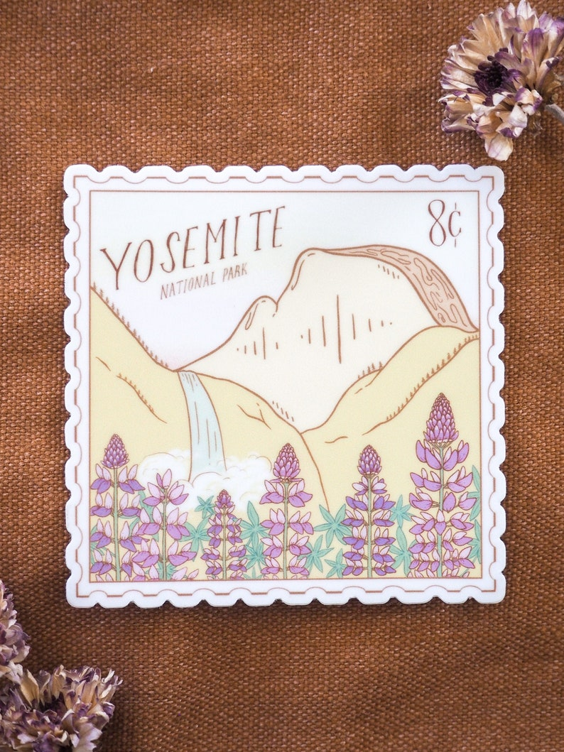 Yosemite art stickers