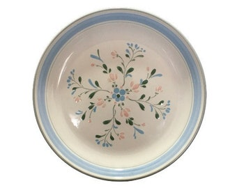 On Sale Yamaka Stoneware Cupboard Craft Brown Sugar  SY-6629 Ovenproof Stoneware 7.5 inch SaladDessert Plate Yellow and White  Flower