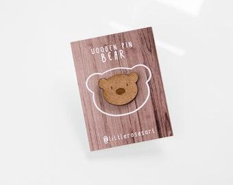 Wood Bear - Pin