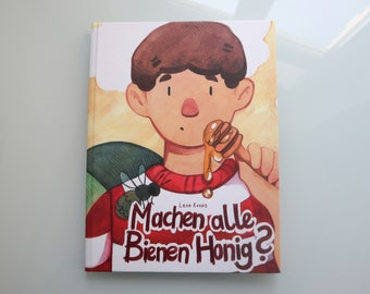 Do all bees make honey? - Children's book