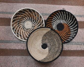 Interior design Dining decor Mchana African baskets decor African Woven decor african wall decor ideas decor  basketAfrican basket