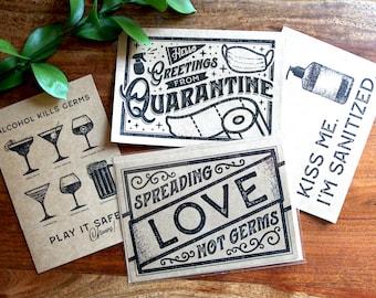 Quarantine Greeting Card Collection