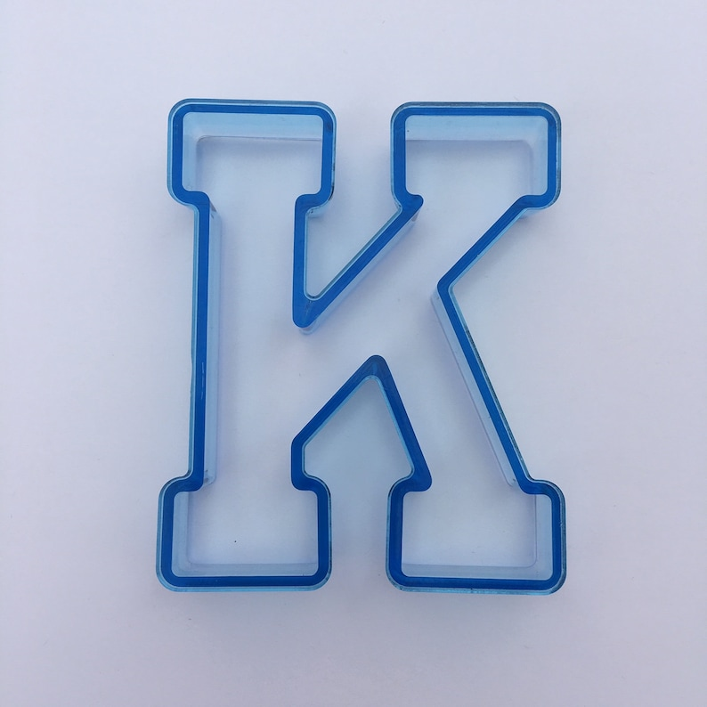 Varsity Font Cookie Cutter 4