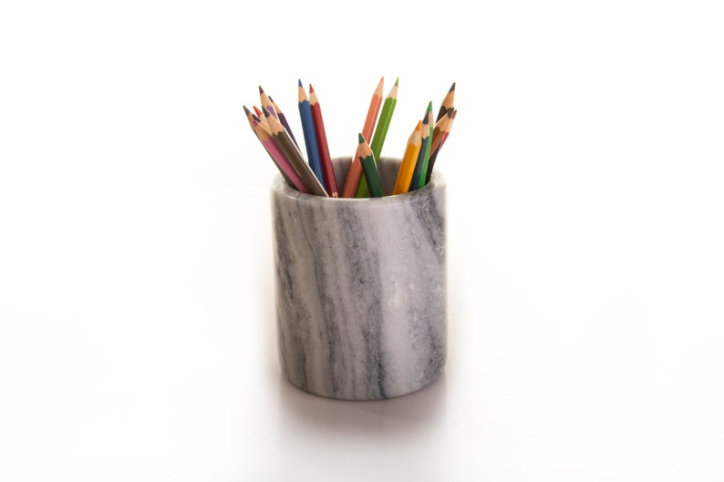 Premium Marble Utensil Holder Pen Holder Multi-purpose Holder Wine Chiller