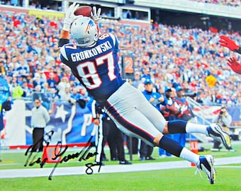 100% authentic a4023 560d9 Rob gronkowski | Etsy