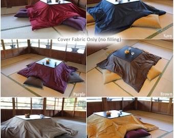 Cover for Kotatsu Futon, Kotatsu Quilt Cover, Square type, Rectangle type, Nagomi Cotton Fabric