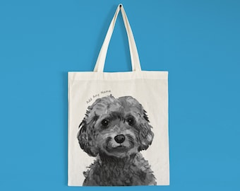Cockerpoo Tote Bag   **HANDMADE//CAN BE PERSONALISED//ECO!**