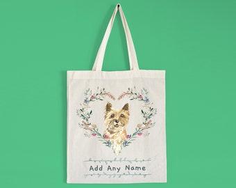 Labrador Yellow RM Natural Cotton Tote Bag Gusset /& Long Handles Perfect Gift
