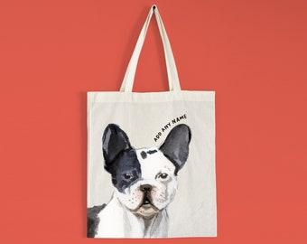 French Bulldog Beach Bag Dog Tote Bag shopfbl Bulldog products French Bulldog Tote Bag French Bulldog Love Bulldog Tote