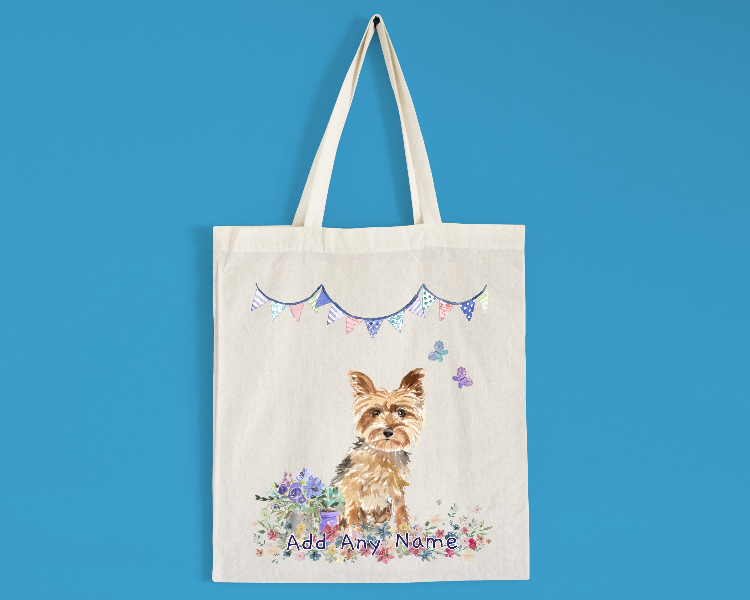 Shopping Bags, Tote Bag Cotton tote Bag for Dogs Personalized Bag