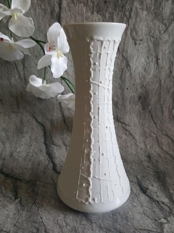 KPM Royal Porcelain Vase White Bisquitrelief