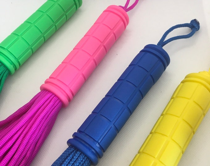 Paracord Flogger,  Various Colours, Vegan Friendly