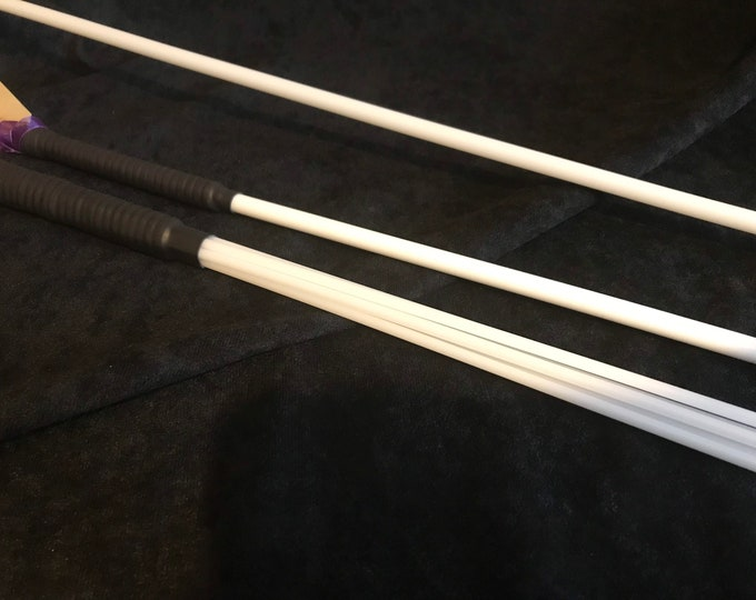 Set of 3 Acetal Impact Play Canes PVC Wrapped, BDSM cane, vegan friendly, BDSM impact play, fetish, spanking toy, gift for master, mistress