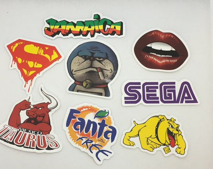 Cool Random Stickers Sold in Sets