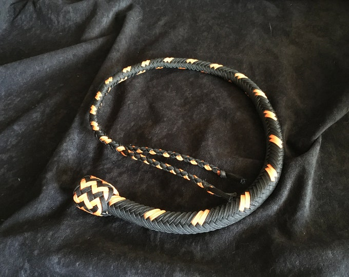 Dragon Tongue  2.5ft Whip, Vegan Friendly (Proof Pic)