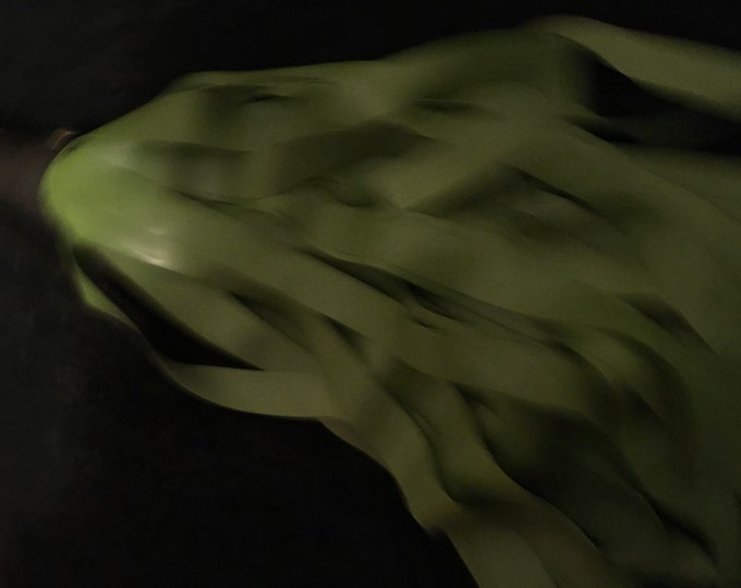 Palm Green Latex Flogger Various Lengths & Handles, Vegan Friendly