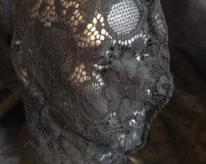 Lace Fetish Hood