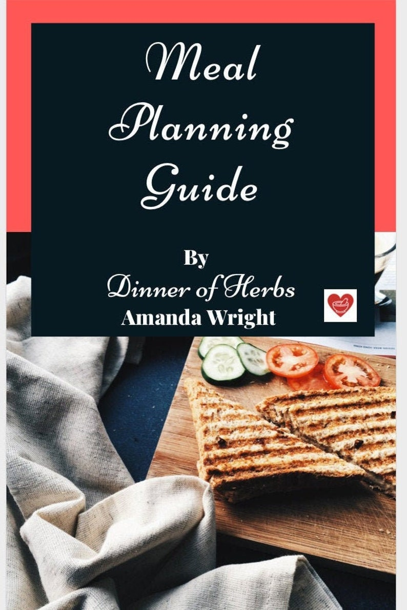 Meal Planning Guide Instant Download image 0