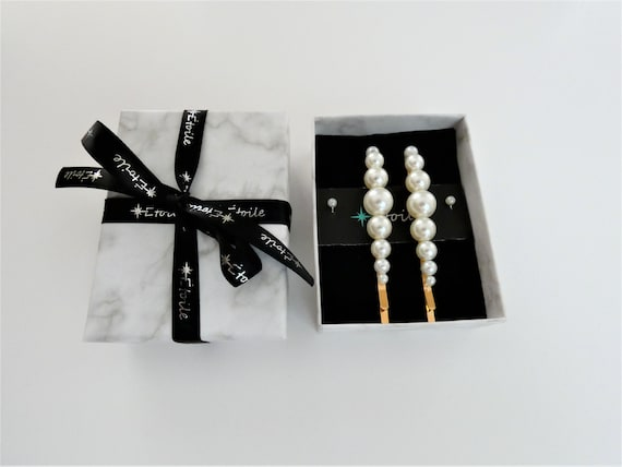 Hair accessories, Bobby pins for hair, Hair clip, Hair pins, Gifts for her, Accessories for women, Pearl clips for her, Pearl hair pin