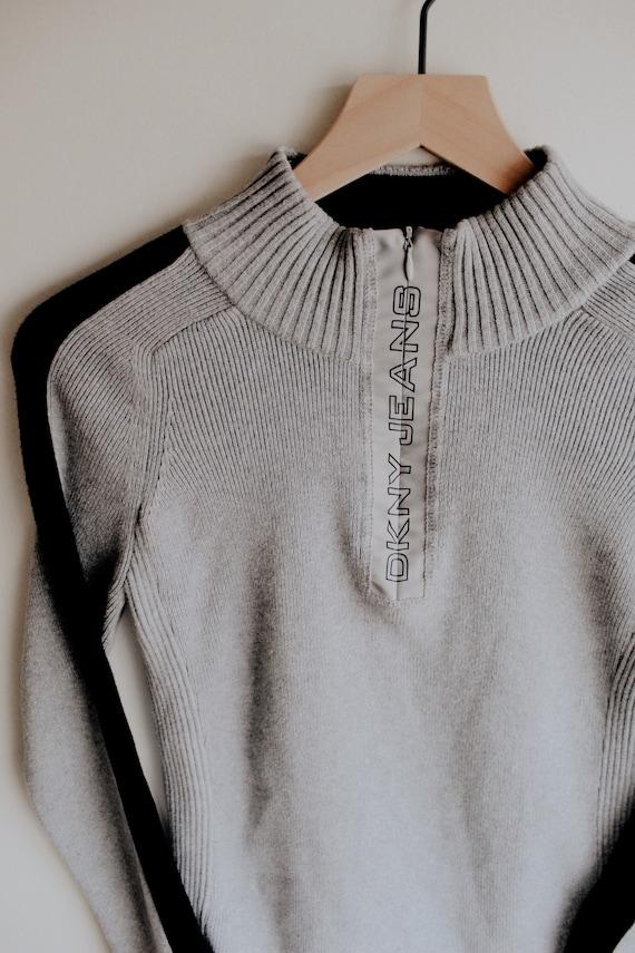 DKNY Quarter Zip Pullover