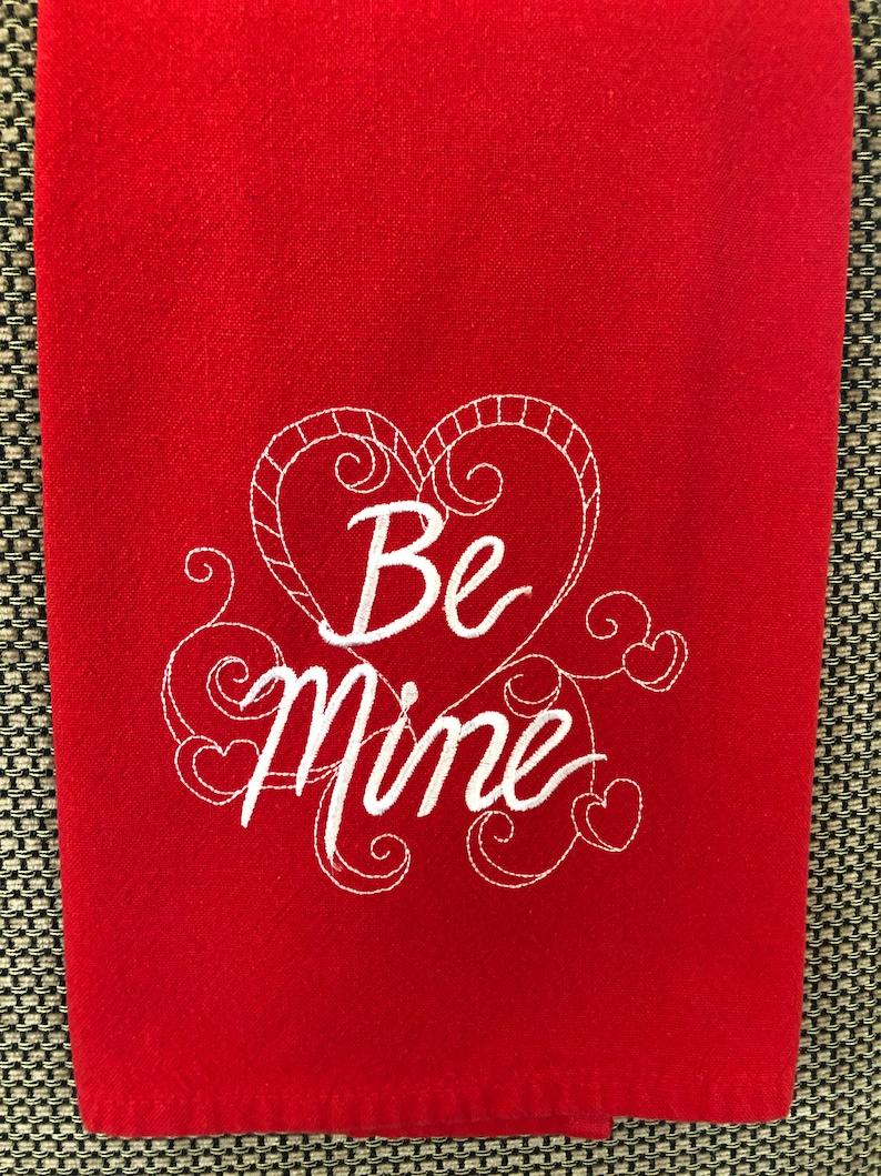 Be Mine Tea Towel