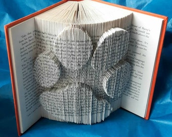 Paw Print Book Art