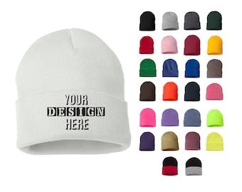 Choose Your Color Custom Beanie Teen Beanie Adult Beanie The Tempest Beanie