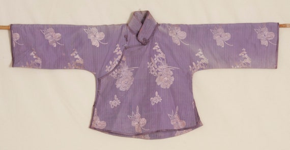 Chinese Interwar Silk Top
