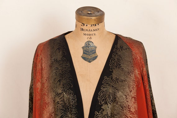 1936 French Silk Lamé Evening Jacket