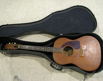 Items similar to Leather Pickguard for Gibson J200 Acoustic