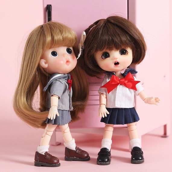 Obitsu11 OB11 cu-poche doll hoodies coat for 1//12 BJD OB11 doll clothes