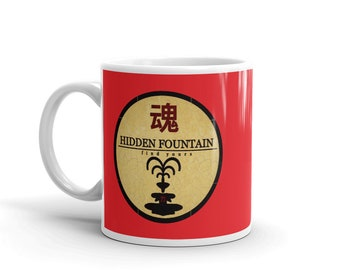 Hidden Fountain Red Flag Mug