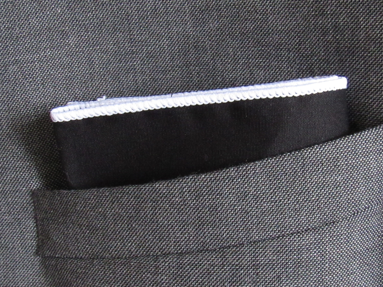 Men Pocket Square Handkerchief Suit  100/% Cotton Colorful edge////