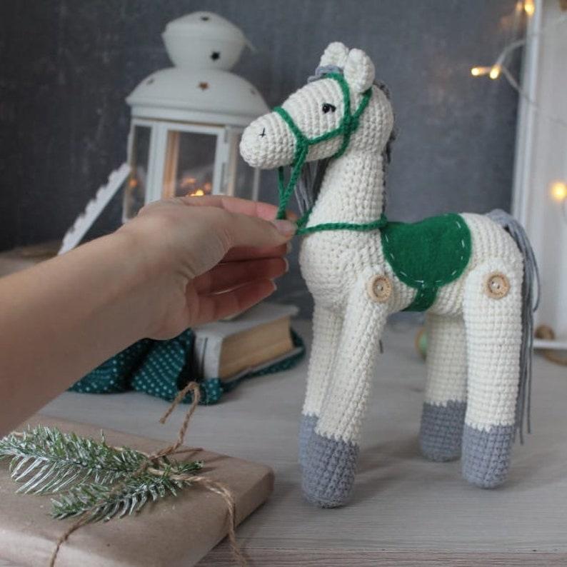 The Horse Amigurumi Pattern plushie toy Crochet Animal Pattern Crochet Amigurumi Horse Farm Animal Crochet Pattern Amigurumi Pattern