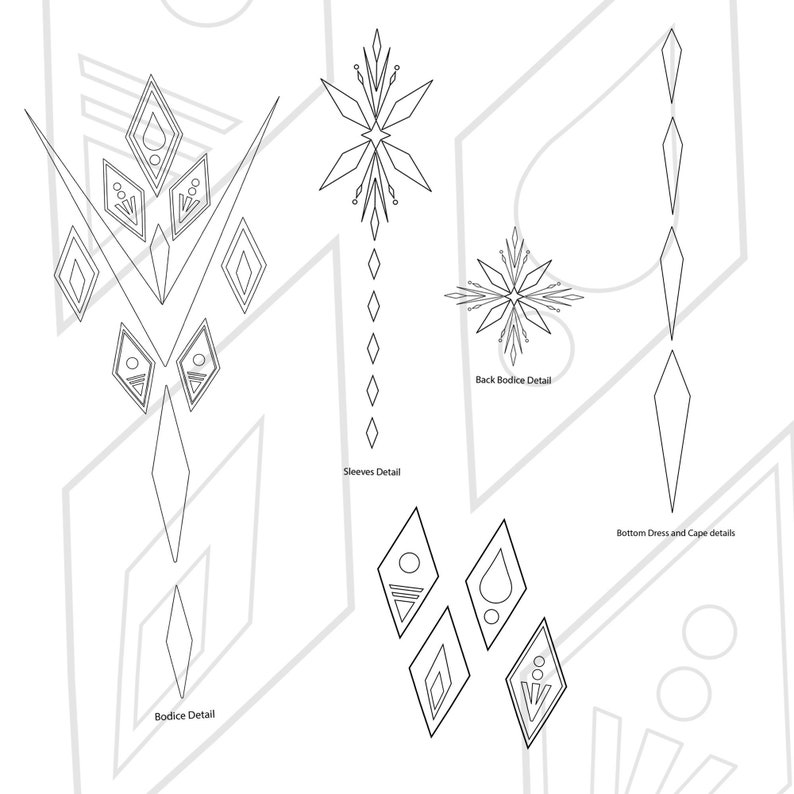 Elsa from Frozen 2  Elemantal Dress inspired Design Cosplay image 1