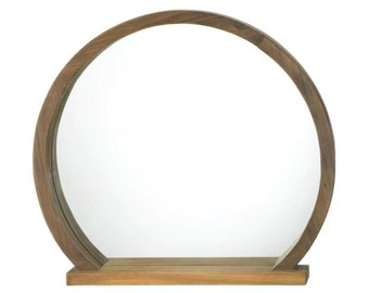 Mirror With Shelf Etsy